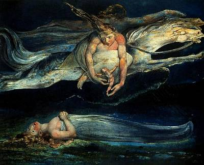 Painting - Pity by William Blake