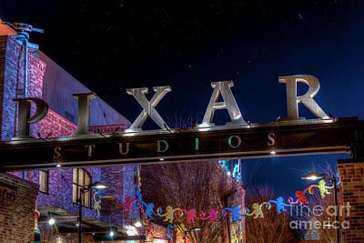 Photograph - Pixar Banner by Luis Garcia