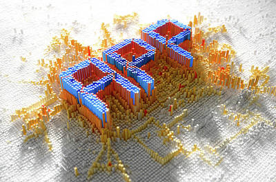 Language Digital Art - Pixel App Concept by Allan Swart