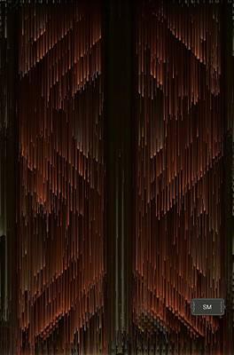 Painting - Pixel Sort Art by Sheila Mcdonald