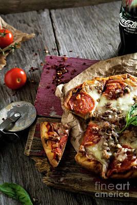 Photograph -  Pizza Night by Deborah Klubertanz