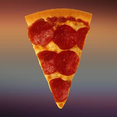 Pizza Slice  Art Print by Movie Poster Prints