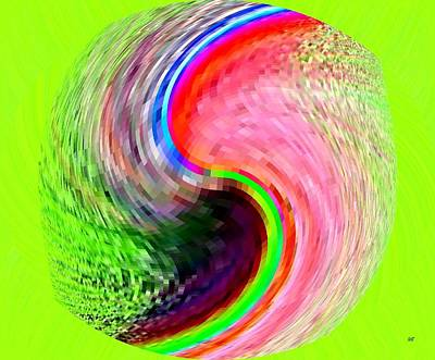 Digital Art - Pizzazz 31 by Will Borden