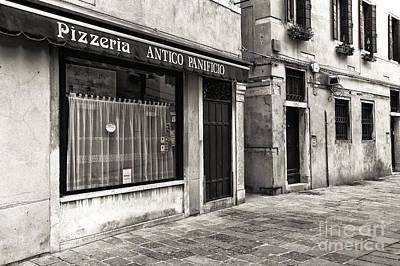 Pizzeria Antico Panicio Art Print by John Rizzuto