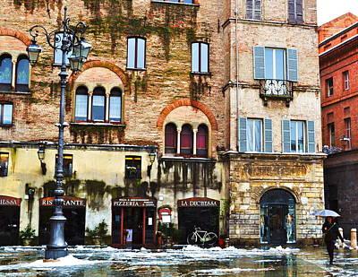 Pizzeria Photograph - Pizzeria In Parma by Jarett Boskovich