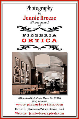 Photograph - Pizzieria Ortica by Jennie Breeze