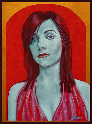 Pj Harvey Art Print