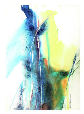 Pour Mixed Media - Pjstudy II by Mark Hoedebecke