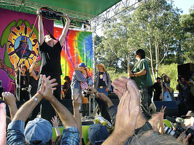 Beastie Boys - PK leads Jefferson Starship PHOTO by Ethel Mann