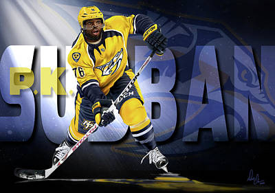 Photograph - Pk Subban by Don Olea