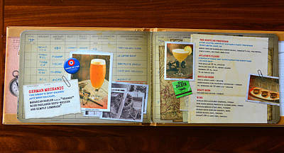 Photograph - Pilots Log Bar Menu Page 5 by David Lee Thompson