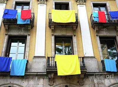 Photograph - Placa Reial Colors by John Rizzuto