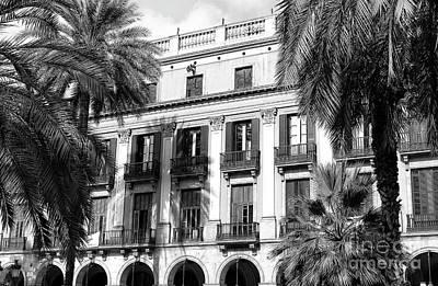 Photograph - Placa Reial by John Rizzuto