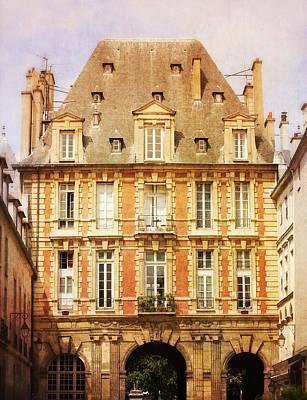 Catherine De Medicis Photograph - Place Des Vosges by Heidi Hermes