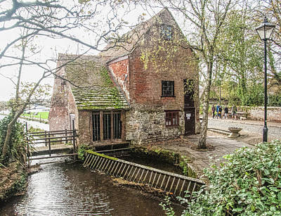Photograph - Place Mill - Christchurch, Dorset, Uk by Phyllis Taylor