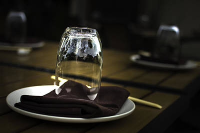 Reflective Surfaces Photograph - Place Setting  by Michael Dugger