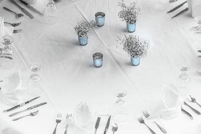 Place Settings Art Print