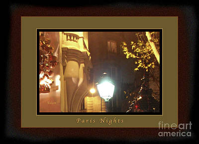 Photograph - Place St Michel To Rue Saint-andre Des Arts Greeting Card And Poster by Felipe Adan Lerma