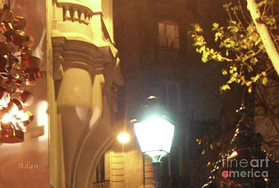 Photograph - Place St Michel To Rue Saint-andre Des Arts Macro by Felipe Adan Lerma