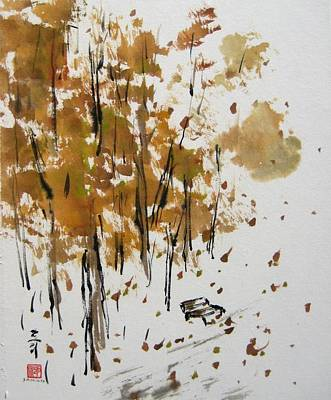 Painting - Place To Park My Thoughts by Laurie Samara-Schlageter