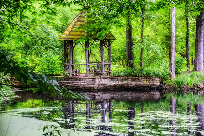 Photograph - Place To Relax And Meditate  by Peggy Franz