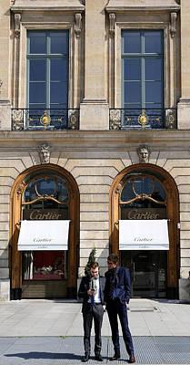 Photograph - Place Vendome Paris by Andrew Fare