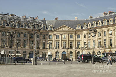 Photograph - Place Vendome by Patricia Hofmeester