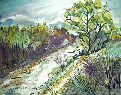 Placerita Creek 3 Art Print by Olga Kaczmar