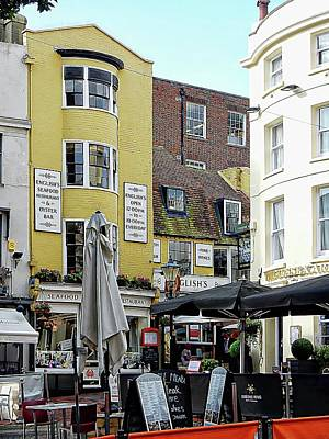 Photograph - Places To Eat In The Lanes Brighton by Dorothy Berry-Lound