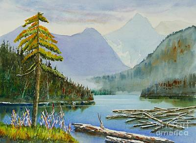 Placid  -  Watercolour Art Print