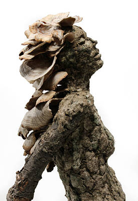 Fantasy Tree Mixed Media - Placid Efflorescence A Sculpture By Adam Long by Adam Long