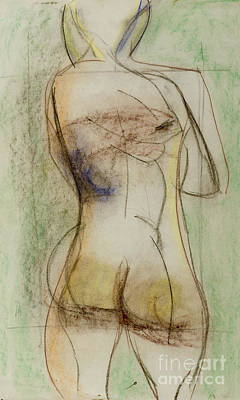 Drawing - Placid by Paul McKey