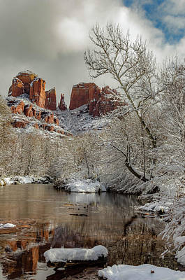 Photograph - Placid Winter Oasis by Brian Oakley Photography