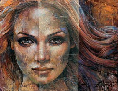 Painting -  Placidity by Arthur Braginsky