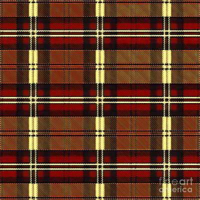 Digital Art - Plaid by Lita Kelley