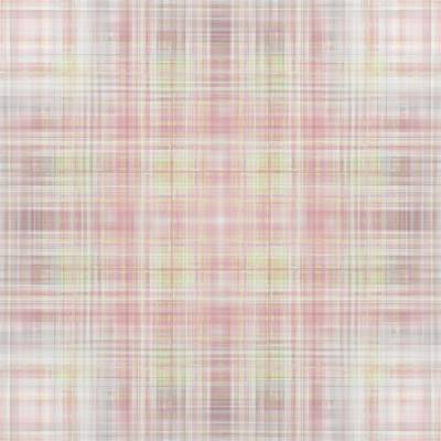 Digital Art - Plaid Pattern In Soft Pastel Colors by Gina Lee Manley