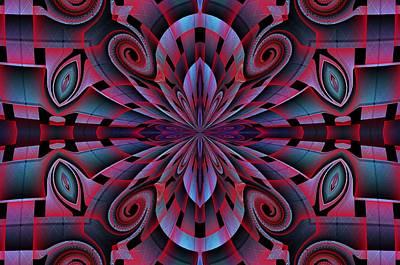 Digital Art - Plaid Swirls by Michelle McPhillips