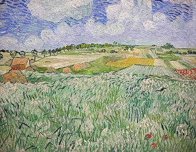 Painting - Plain Near Auvers by Vincent van Gogh