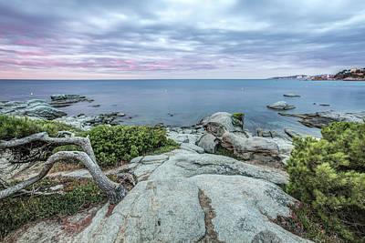 Shoreline Photograph - Plain Rocks Cove, Sant Antoni De Calonge by Marc Garrido
