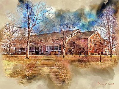 Plainfield Friends Meeting - A Quaker Church Art Print
