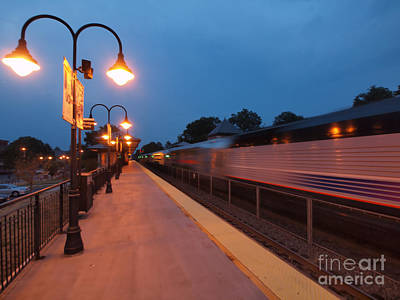 Photograph - Plainfield Train Station by Valerie Morrison