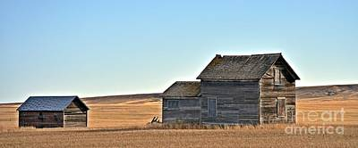 Photograph - Plains Homestead  by Chalet Roome-Rigdon