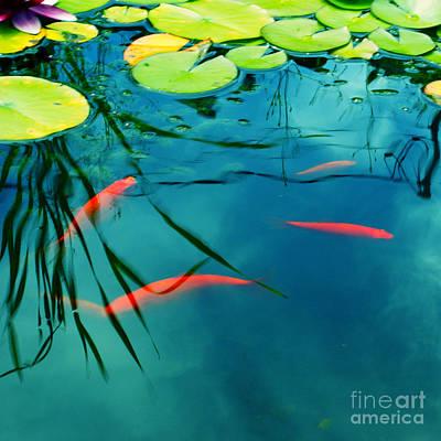 Plaisir Aquatique Art Print