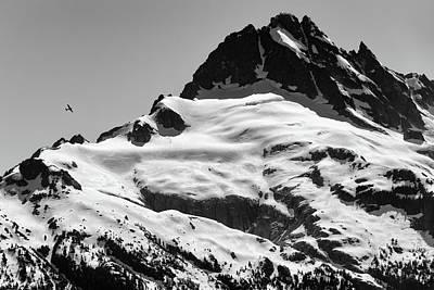 Photograph - Plane Vs Mountain by Chris Buff