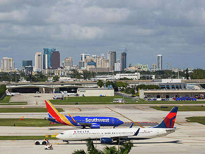 Photograph - Planes By Fort Lauderdale by Dart Humeston