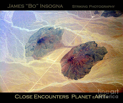 Photograph - Planet Art Close Encounters by James BO Insogna