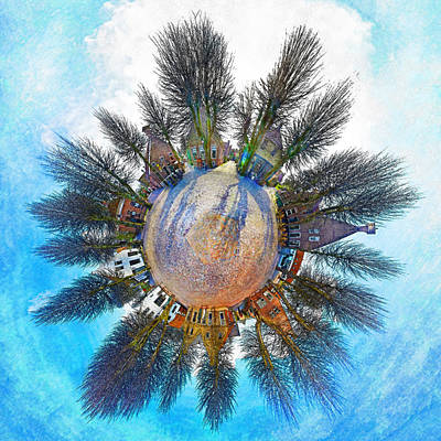 Planet Bourtange Art Print