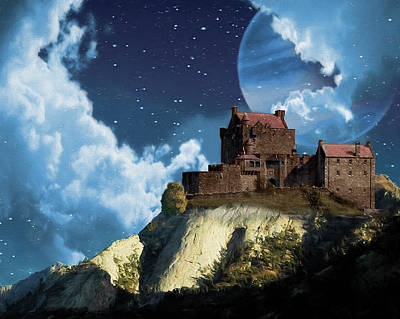 Photograph - Planet Castle by Charlie Alolkoy