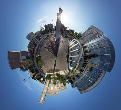 Photograph - Planet City Hall, Thunder Bay by Jakub Sisak
