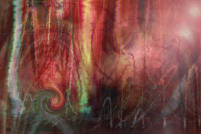 Planet Dance Art Print by Linda Sannuti